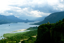 Oregon: Columbia River View from Women's Forum Park, Photo: orcolu101  .Photo copyright Lee Foster, www.fostertravel.com, 510/549-2202, lee@fostertravel.com