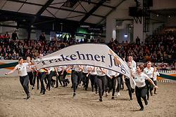 Jungzüchter Schaubild<br /> Neumünster - Trakehner Hengstmarkt 2019<br /> Der Tradition verbunden, die Zukunft im Blick<br /> Galaabend<br /> 09. November 2019<br /> © www.sportfotos-lafrentz.de/Stefan Lafrentz