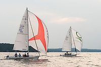 Winnipesaukee Yacht Club J80 race series on Thursday, August 9, 2012.