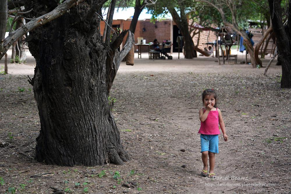 Guarani family life in Isoso, Santa Cruz, Bolivia