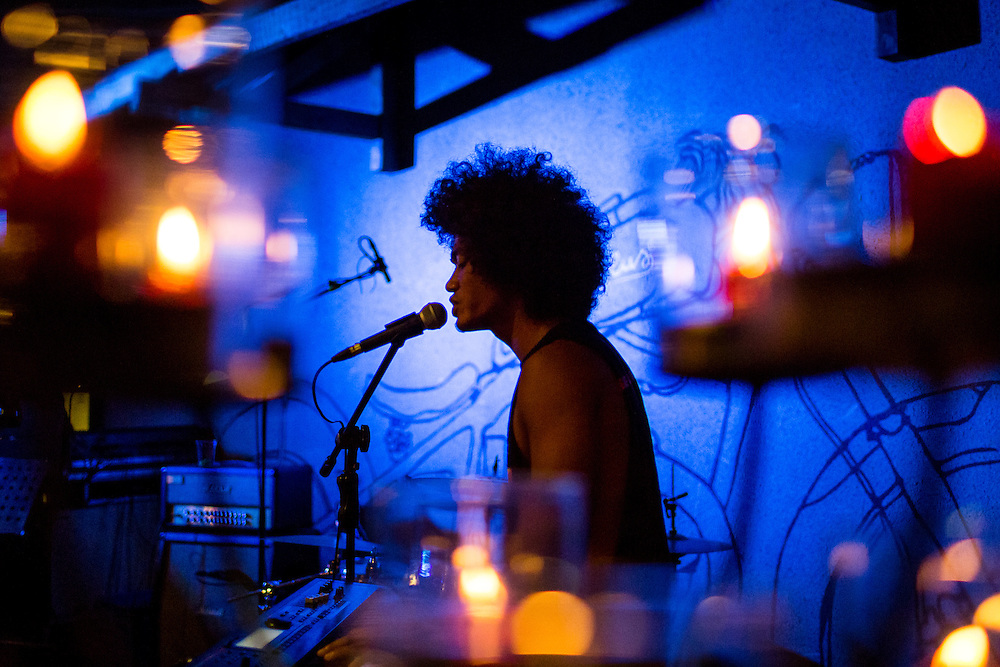 Iwanouz performs during Deus Sunday Sunset Session.