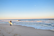 Surfer, Beach, Bridgehampton, NY