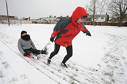 © Licensed to London News Pictures. 12/03/2013.Snow and high winds in Kent over night and this morning (12.03.2013)  Back Yard Bootcamp, Ladies weekly fitness class are training in the freezing snow in Dunton Green,Sevenoaks this morning.. Photo credit : Grant Falvey/LNP