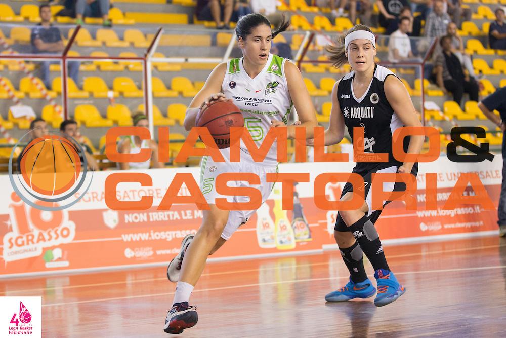 Gaia Maddalena  Gorini <br /> Carispezia La Spezia Passalacqua Ragusa<br /> LegA Basket Femminile 2016/2017<br /> Lucca, 02/10/2016<br /> Foto Elio Castoria/Ciamillo-Castoria