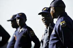 09.06.2010, .Centurion, Johannesburg, RSA, FIFA WM 2010, Italien Training im Bild Polizei ist überall vor Ort um die Sicherheit zu gewährleisten, EXPA Pictures © 2010, PhotoCredit: EXPA/ InsideFoto/ G. Perottino / SPORTIDA PHOTO AGENCY