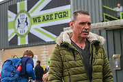 Forest Green Rovers Chairman Dale Vince during the EFL Sky Bet League 2 match between Forest Green Rovers and Accrington Stanley at the New Lawn, Forest Green, United Kingdom on 30 September 2017. Photo by Shane Healey.