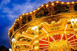 Detail of a carousel in Reims, FRance<br /> <br /> (c) Andrew Wilson | Edinburgh Elite media