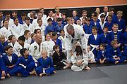 Ivan Kravtiz during a jiu-jitsu lesson at US Blackbelt Academy on Thursday, March 26, 2015 in Laguna Niguel, Calif. (Photo/Josh Barber)