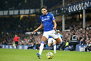 Everton forward Dominic Calvert-Lewin (9) during the Premier League match between Everton and Newcastle United at Goodison Park, Liverpool, England on 21 January 2020.