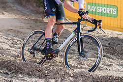 Stevens bike of Wout VAN AERT (BEL) during the Men Elite race at the 2018 Telenet Superprestige Cyclo-cross #1 Gieten, UCI Class 1, Gieten, Drenthe, The Netherlands, 14 October 2018. Photo by Pim Nijland / PelotonPhotos.com | All photos usage must carry mandatory copyright credit (Peloton Photos | Pim Nijland)