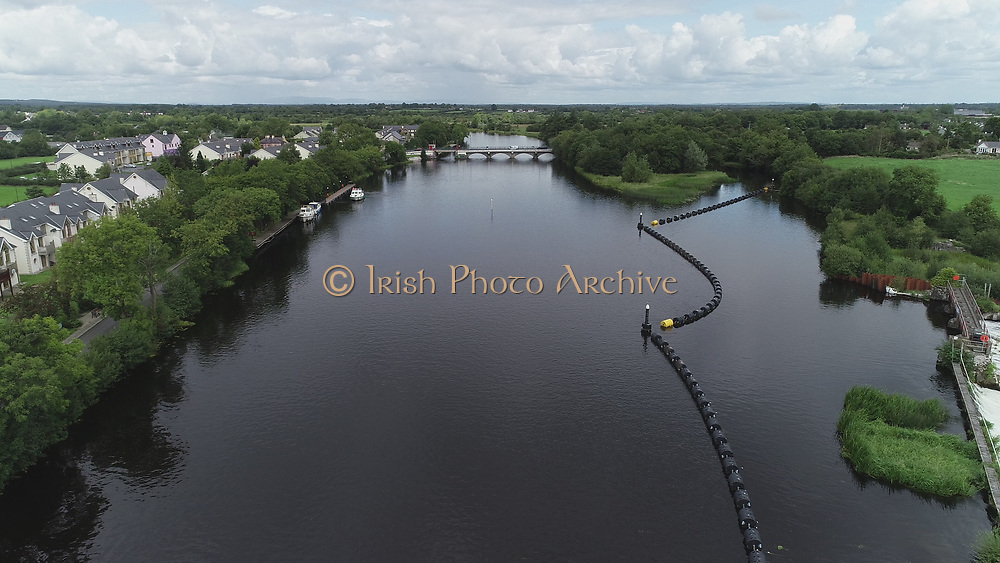 Shannon River between Clondra and Termonbarry   August 2018