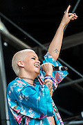Etta Bond plays Wireless festival, Finsbury Park, London, UK