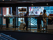 12 FEBRUARY 2016 - BANGKOK, THAILAND: People shop in Siam Center, one of the trendiest malls in Bangkok. It's in the middle of Bangkok's exclusive retail area.           PHOTO BY JACK KURTZ