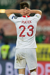 March 21, 2019 - Vienna, Austria - Krzysztof Piatek of Poland during the UEFA European Qualifiers 2020 match between Austria and Poland at Ernst Happel Stadium in Vienna, Austria on March 21, 2019. (Credit Image: © Foto Olimpik/NurPhoto via ZUMA Press)