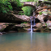 """Old Man's Cave Upper Falls""<br />