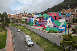 Graffitis und Street Art in Bogota / 100916<br />