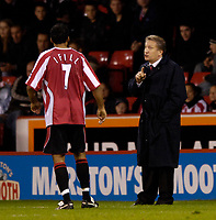 Photo: Jed Wee.<br /> Sheffield United v Birmingham City. Carling Cup. 24/10/2006.<br /> <br /> Sheffield United manager Neil Warnock.