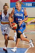 DESCRIZIONE : Ortona Italy Italia Eurobasket Women 2007 Serbia Italia Serbia Italy <br /> GIOCATORE : Francesca Zara<br /> SQUADRA : Nazionale Italia Donne Femminile EVENTO : Eurobasket Women 2007 Campionati Europei Donne 2007 <br /> GARA : Serbia Italia Serbia Italy <br /> DATA : 01/10/2007 <br /> CATEGORIA : Penetrazione <br /> SPORT : Pallacanestro <br /> AUTORE : Agenzia Ciamillo-Castoria/S.Silvestri Galleria : Eurobasket Women 2007 <br /> Fotonotizia : Ortona Italy Italia Eurobasket Women 2007 Serbia Italia Serbia Italy <br /> Predefinita :