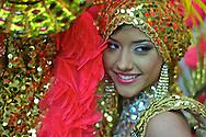 Backstage at Miss ¨Sen?orita Panama¨ beauty pageant at the Sheraton Hotel. Miss Panama 2010 contest. Panama.