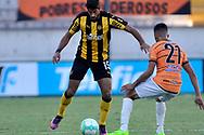Montevideo, Uruguay 1 de Abril  Torneo Apertura <br /> Por la octva fecha se enfrentaron en el CDS <br /> Pe&ntilde;arol  vs Sud America .Foto Martin Martinez/Focouy