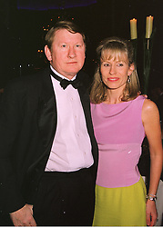 MR & MRS DERMOT SMURFIT brother of Michael Smurfit the Irish multi-millionaire, at a ball in London on 15th June 1998.MIJ 44