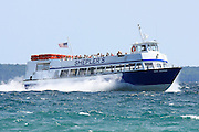 Shepler's is one of three companies that provide regular ferry service between Mackinac Island and the towns of St. Ignace and Mackinaw City.