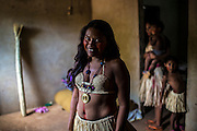 Xerente tribesmen  in the village of Tocantinia, Brazil, Thursday, 49, 2015. (Hilaea Media/ Dado Galdieri)