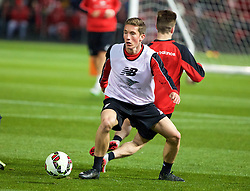 ADELAIDE, AUSTRALIA - Sunday, July 19, 2015: Liverpool's Harry Wilson during a training session at Coopers Stadium ahead of a preseason friendly match against Adelaide United on day seven of the club's preseason tour. (Pic by David Rawcliffe/Propaganda)