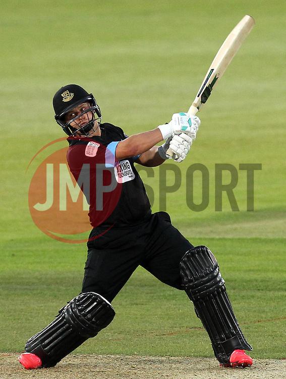 Sussex's Craig Cachopa - Photo mandatory by-line: Robbie Stephenson/JMP - Mobile: 07966 386802 - 19/06/2015 - SPORT - Cricket - Southampton - The Ageas Bowl - Hampshire v Sussex - Natwest T20 Blast