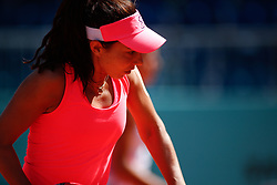May 9, 2019 - Madrid, MADRID, SPAIN - Mihaela Buzarnescu (ROU) during the Mutua Madrid Open 2019 (ATP Masters 1000 and WTA Premier) tenis tournament at Caja Magica in Madrid, Spain, on May 09, 2019. (Credit Image: © AFP7 via ZUMA Wire)