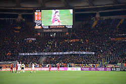 February 3, 2019 - Rome, Italy - A.S. Roma supporters,Curva Sud, during the Italian Serie A football match between A.S. Roma and A.C. Milan at the Olympic Stadium in Rome, on february 03, 2019. (Credit Image: © Silvia Lore/NurPhoto via ZUMA Press)