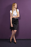 Businesswoman standing at office