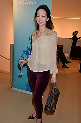 CELIA WEINSTOCK at Fashions for The Future presented by Oceana's Junior Council held at Phillips Auction House, 30 Berkeley Square, London on 19th March 2015.