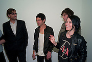TIM NOBLE; SUE WEBSTER, Marc Quinn exhibition opening. Allanah, Buck, Catman, Michael, Pamela and Thomas. White Cube Hoxton Sq. London. 6 May 2010.  *** Local Caption *** -DO NOT ARCHIVE-© Copyright Photograph by Dafydd Jones. 248 Clapham Rd. London SW9 0PZ. Tel 0207 820 0771. www.dafjones.com.<br /> TIM NOBLE; SUE WEBSTER, Marc Quinn exhibition opening. Allanah, Buck, Catman, Michael, Pamela and Thomas. White Cube Hoxton Sq. London. 6 May 2010.