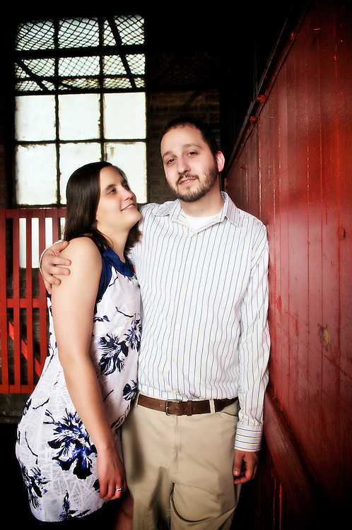 Mike and Colleen engagement photos.