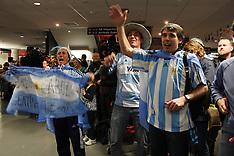Dunedin-Argentina RWC Team Arrival