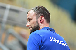Uros Zorman before friendly handball match between Slovenia and Srbija, on October 27th, 2019 in Športna dvorana Lukna, Maribor, Slovenia. Photo by Milos Vujinovic / Sportida
