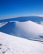 Mauna Kea, Mauna Loa in background, Island of Hawaii, Hawaii, USA<br />