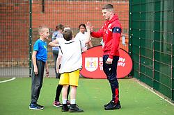 Ryan Kent and Bristol City Community trust at Knowle Park primary school  - Mandatory by-line: Dougie Allward/JMP - 20/03/2018 - MULTI SPORT - Knowle Park Primary School - Bristol, England - Knowle Park