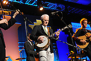 "Steve Martin and the Steep Canyon Rangers perform at the 12th Annual Starkey Hearing Foundation ""So The World May Hear"" Gala on Saturday, August 4, 2012 in St. Paul, Minnesota. (Photo by Diane Bondareff/Invision for Starkey Hearing Foundation)"