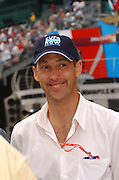 Actor Anthony Edwards of the TV show ER seen at the Indianapolis Motor Speedway. Photo by Michael Hickey