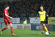 Liam Boyce of Burton Albion (27) during the The FA Cup third round replay match between Burton Albion and Milton Keynes Dons at the Pirelli Stadium, Burton upon Trent, England on 14 January 2020.