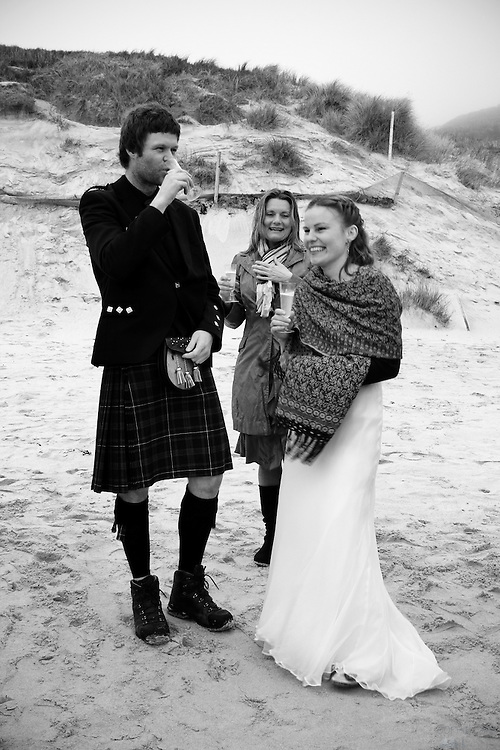 Congratulations to Jan & Carrie on Vatersay Beach