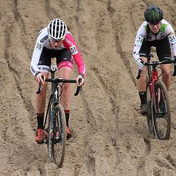 08-12-2019: Wielrennen: Superprestige: Zonhoven: Manon Bakker: Shirin van Anrooij
