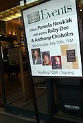 """Atmosphere at the reading of ' Letters from Black America """" A Dramatic Reading with Editor Pamela Newkirk and actors Ruby Dee and Anthony Chisholm held at Barnes & Noble at 82nd Street on July 15, 2009 in New York City"""
