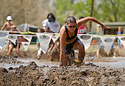 Competitors on the obstacles during the first annual Run Amok race held in 2008 as part of the Reno Riverfestival.