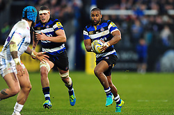 Aled Brew of Bath Rugby - Mandatory byline: Patrick Khachfe/JMP - 07966 386802 - 31/12/2016 - RUGBY UNION - The Recreation Ground - Bath, England - Bath Rugby v Exeter Chiefs - Aviva Premiership.