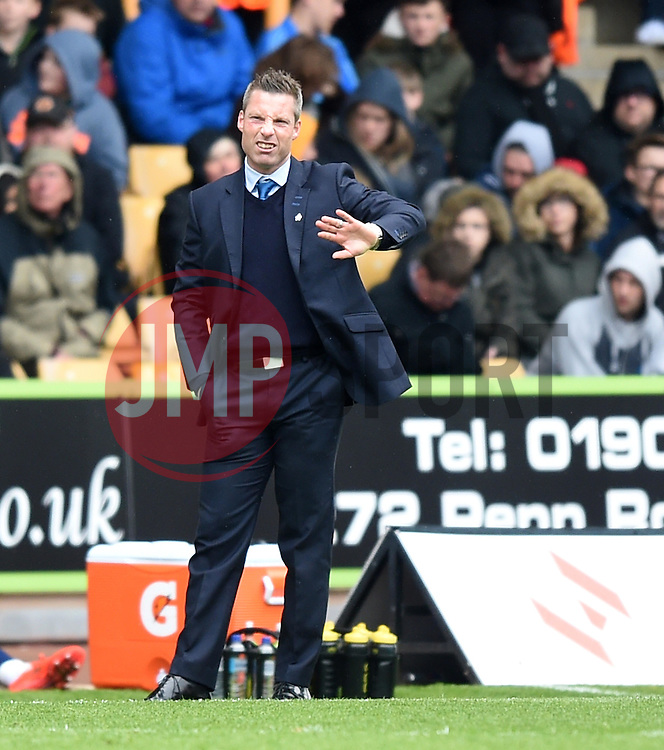 Millwall Manager, Neil Harris - Photo mandatory by-line: Paul Knight/JMP - Mobile: 07966 386802 - 02/05/2015 - SPORT - Football - Wolverhampton - Molineux Stadium - Wolverhampton Wanderers v Millwall - Sky Bet Championship
