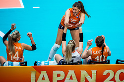 19-10-2018 JPN: Semi Final World Championship Volleyball Women day 18, Yokohama<br /> Serbia - Netherlands / Juliet Lohuis #7 of Netherlands