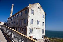 The electrical repair shop along East Road, Alcatraz Island, Golden Gate National Recreation Area, San Francisco, California.